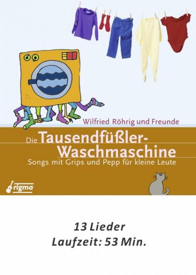 rigma | Die Tausendfüßler-Waschmaschine | CD 106