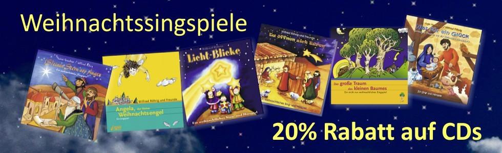rigma - Weihnachtssingspiele - CD - 20% Rabatt