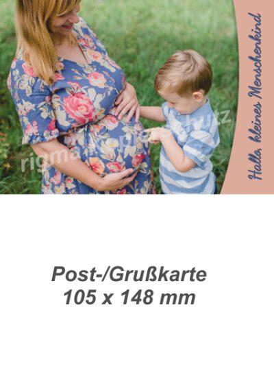 Hallo, kleines Menschenkind | Postkarte